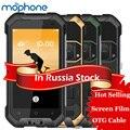 "Blackview bv6000 4g tri-prueba smartphone 4.7 ""hd 3 gb + 32 gb ip68 impermeable android 6.0 4500 mah celular brújula teléfono móvil nfc"