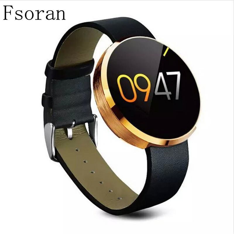 Fsoran DM360 Elegant Women Smart Watch Heart Rate Pedometer Fitness Tracker Waterproof Smartwatch For IPhone Huawei Android Ios цена