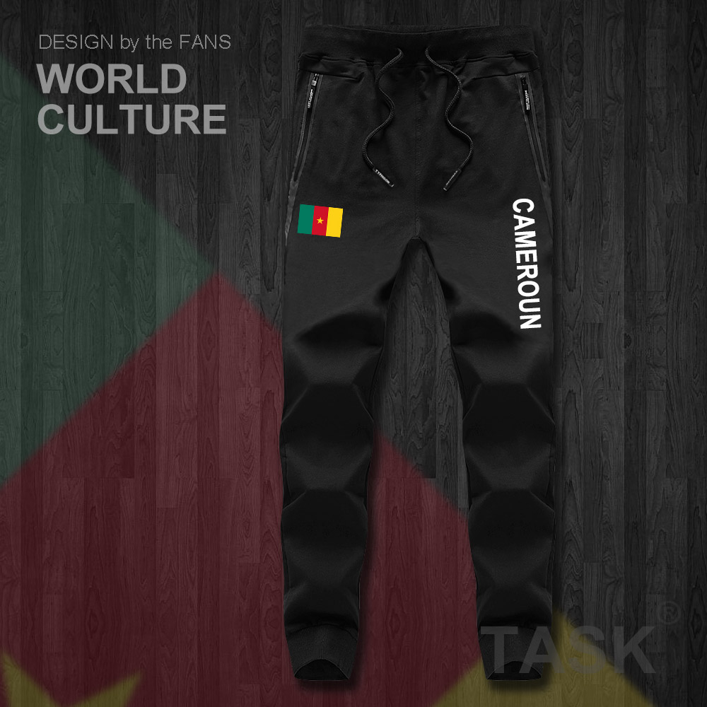 Cameroon CMR Cameroun Cameroonian Mens Pants Joggers Jumpsuit Sweatpants Track Sweat Fitness Fleece Tactical Nation Leggings New