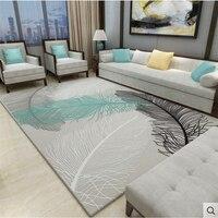 Нежные ковры для гостиной, спальни, ковры в скандинавском стиле, полипропилен для чистки ковров, для дома, мягкая толщина ковер, дверной ковр