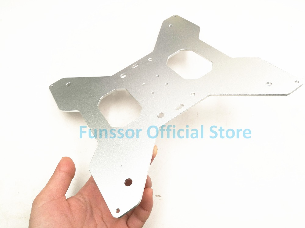 Funssor aluminum upgrade Tarantula 3D Printer Y Carriage heated support 3MM thickness