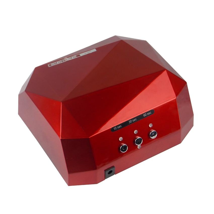 Tignish Pro 36W Nail Art UV LED Gel lámpara de curado Barnices Laca - Arte de uñas - foto 4