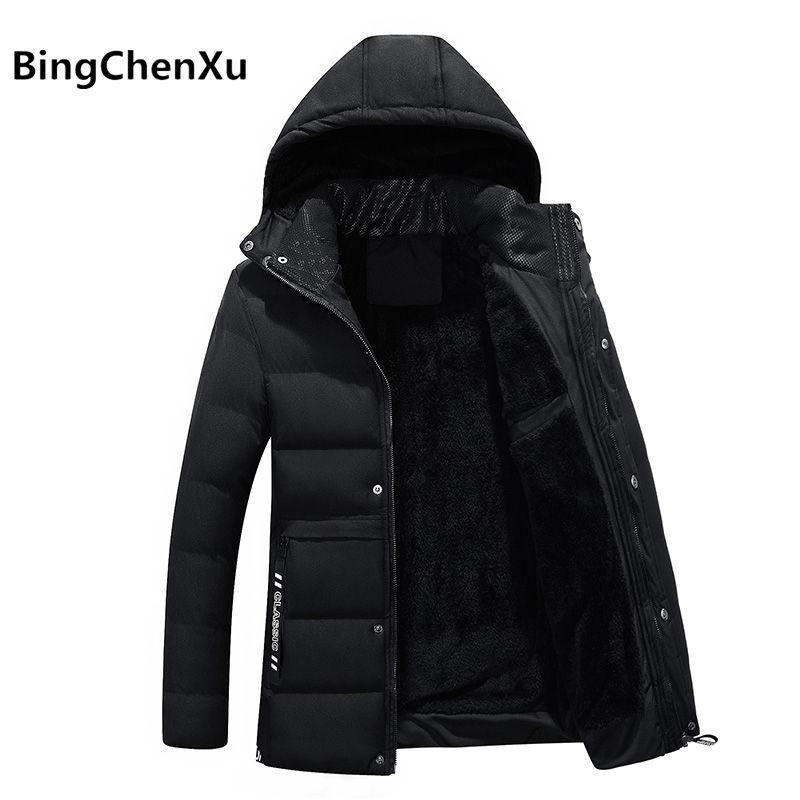 Fashionabl Winter Jacket Men Padded Hooded Parka Thick Warm Coats Cotton Pattern clothing warm jackets New veste hiver homme 530 мужской пуховик al men s padded jacket winter warm hooded jacket