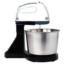 Электрический миксер JamieLin для взбивания яиц, 7 скоростей, миксер для смешивания яиц, миксер для теста, машина для приготовления пищи