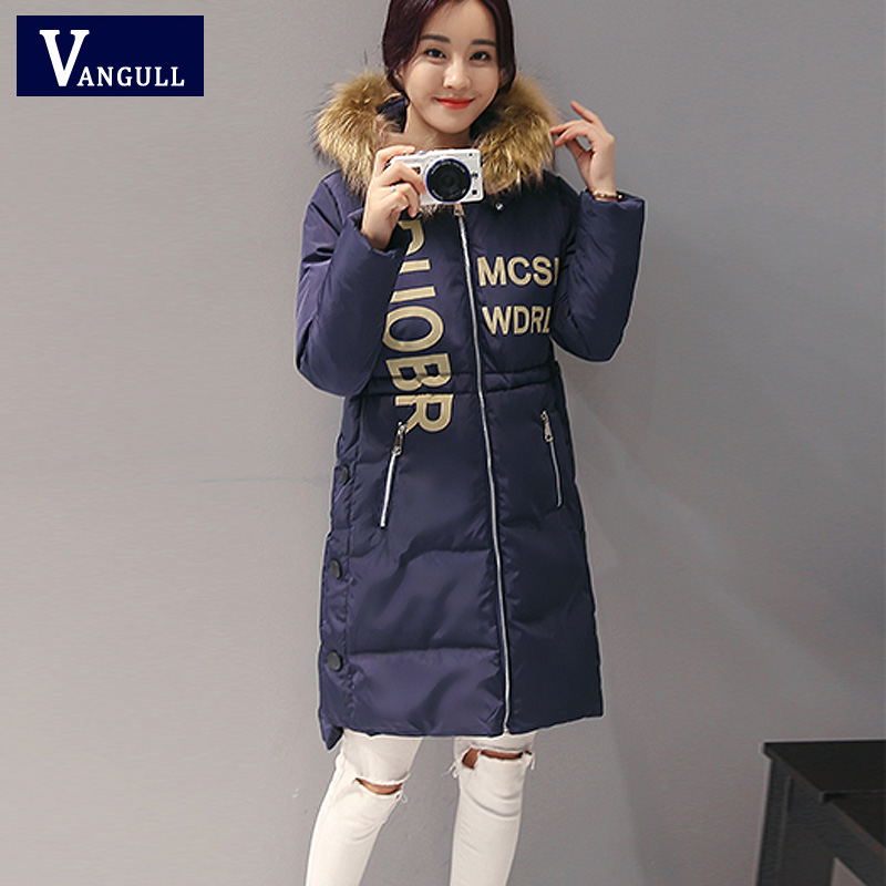 winter jacket 2017 women new long parka real fur coat big raccoon fur collar hooded parkas thick outerwear stree style 2017 winter new clothes to overcome the coat of women in the long reed rabbit hair fur fur coat fox raccoon fur collar