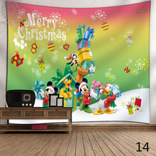 купить Morigins Christmas Tapestry Wall Hanging Santa Claus Pattern Christmas Wall Hanging Tapestry Home Decor Wall Hanging Tapestries дешево