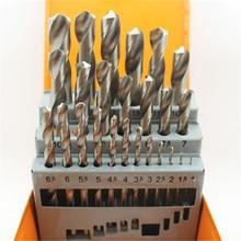 1.0-13.0mm HSS Wood Metal Drilling Tool HSS Twist Drill Bit Hole Boring Drill Bits Sets