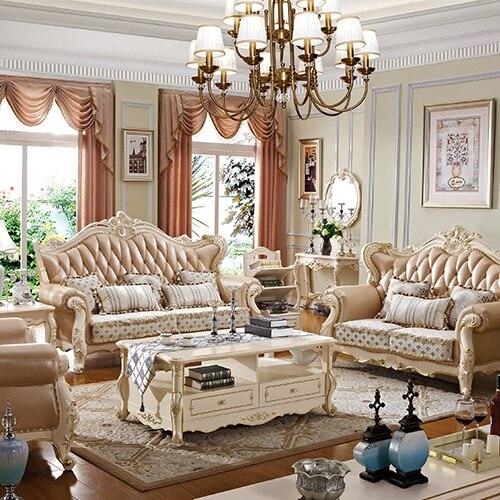 Pas cher salon meubles ensemble canapé avec accoudoir