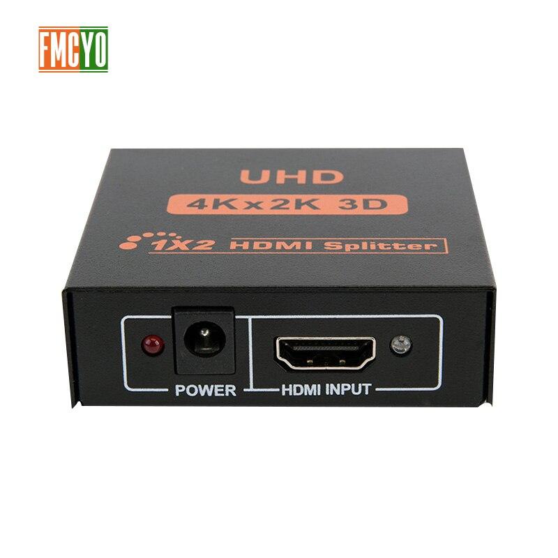 HDMI Splitter KVM Switcher 2x1 1x2 HDMI Port 2 Input 1 Output 4K Resolution Bi Directional HDMI Switch Matrix