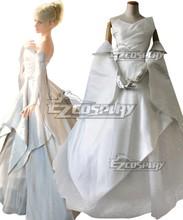 Final Fantasy XV Lunafreya Nox Fleuret Wedding Dress Cosplay Costume E001