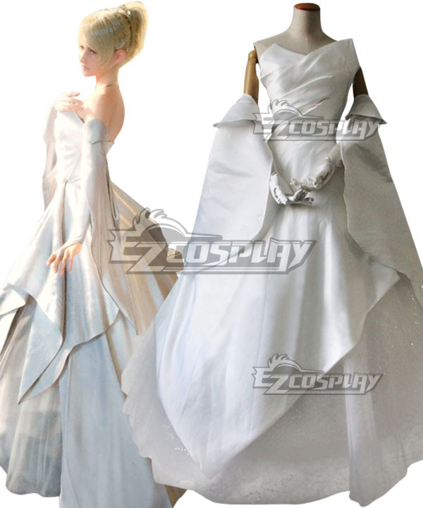 Final Fantasy Xv Lunafreya Nox Fleuret Wedding Dress Cosplay Costume E001 On Aliexpress Alibaba Group
