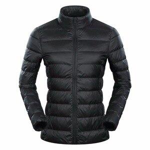 Image 3 - Marca NewBang 6xl 7XL 8XL Plus chaqueta ultraligera para mujer, chaqueta de plumón de pato, cortavientos y ligera, abrigos finos cálidos