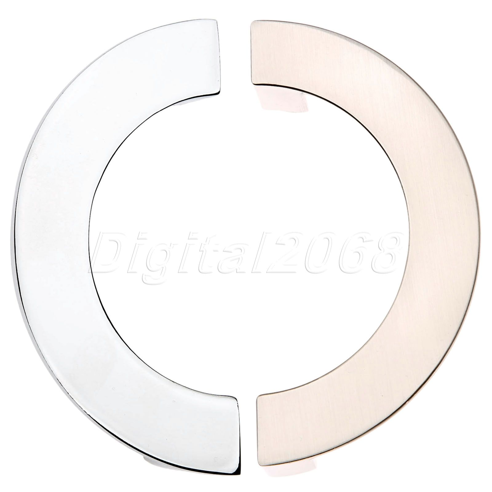 New High Quality Modern Semi-circular Cabinet Wardrobe Closet Drawer Knob Door Pull Handle Sliding Door Knob