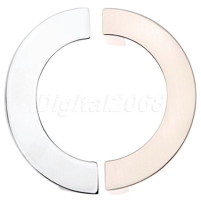 New High Quality Modern Semi Circular Cabinet Wardrobe Closet Drawer Knob  Door Pull Handle Sliding