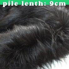 קוספליי שחור פרווה ארוך