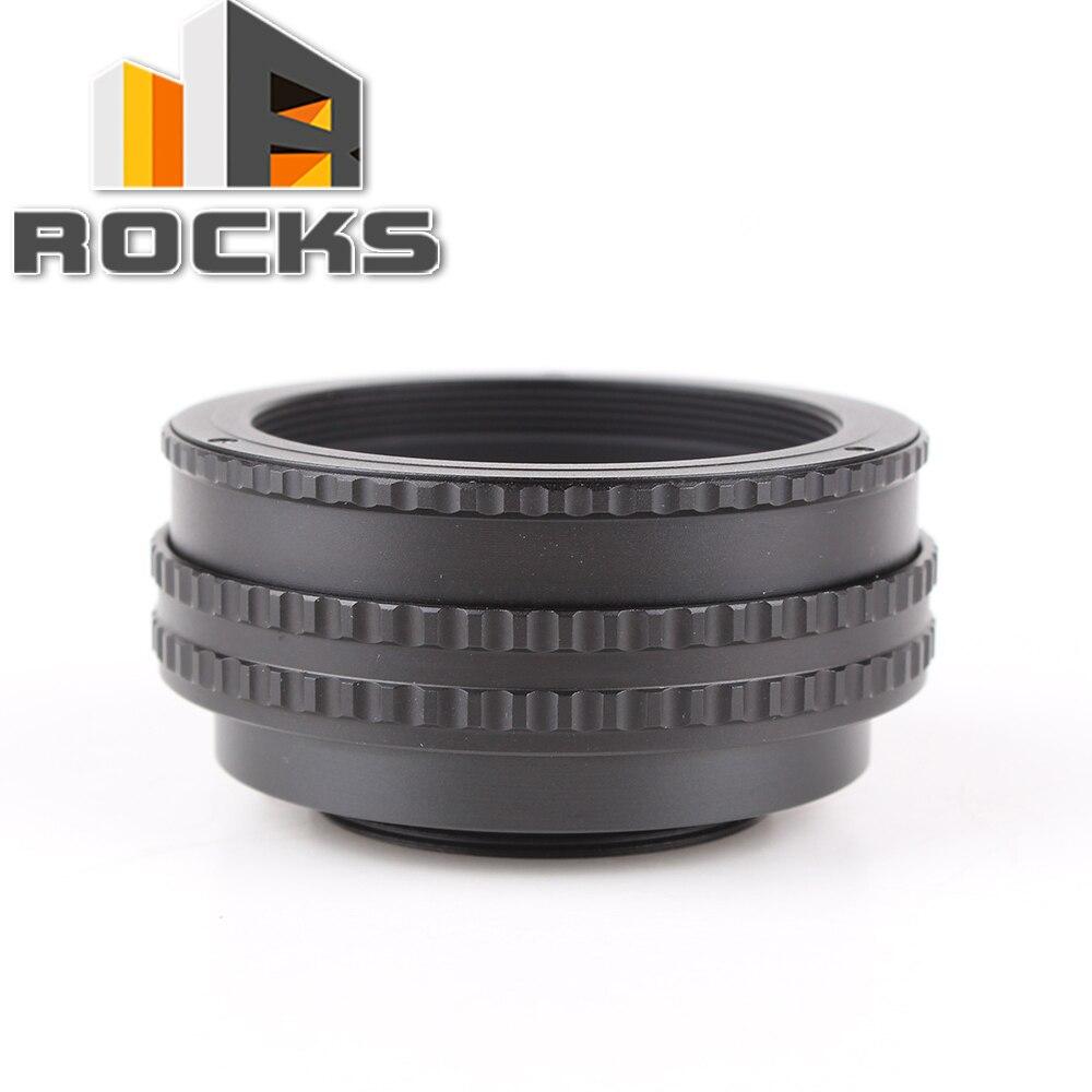 Pixco M52 objectif à M42 caméra mise au point réglable adaptateur bague hélicoïdale 17-31mm Tube d'extension Macro M52-M42 17mm-31mm