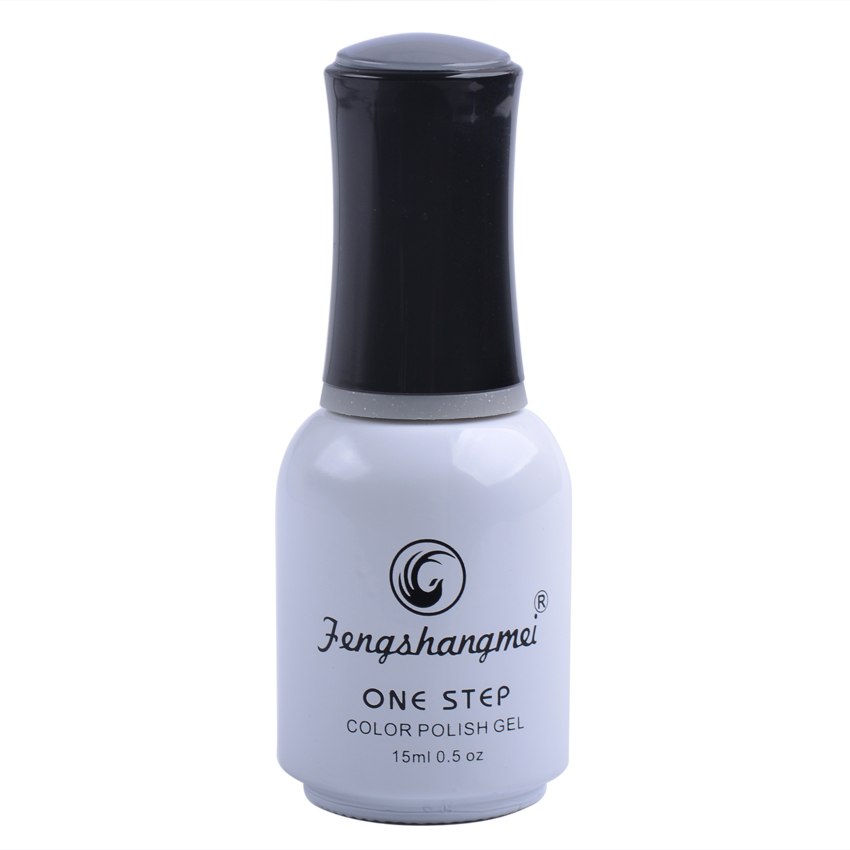 Fengshangmei One Step Gel esmalte de uñas 3 en 1 color UV Barniz Led - Arte de uñas - foto 2