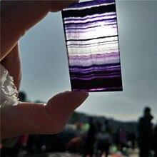 Натуральный кристалл и камень, цветные флюоритовые камни, образец, очень хороший цвет, лечебные хрустальные камни