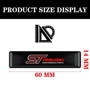 Image 2 - Pegatinas de protección para el coche, calcomanía Exterior para Ford Focus ST Mondeo, emblema del coche, 10 Uds.