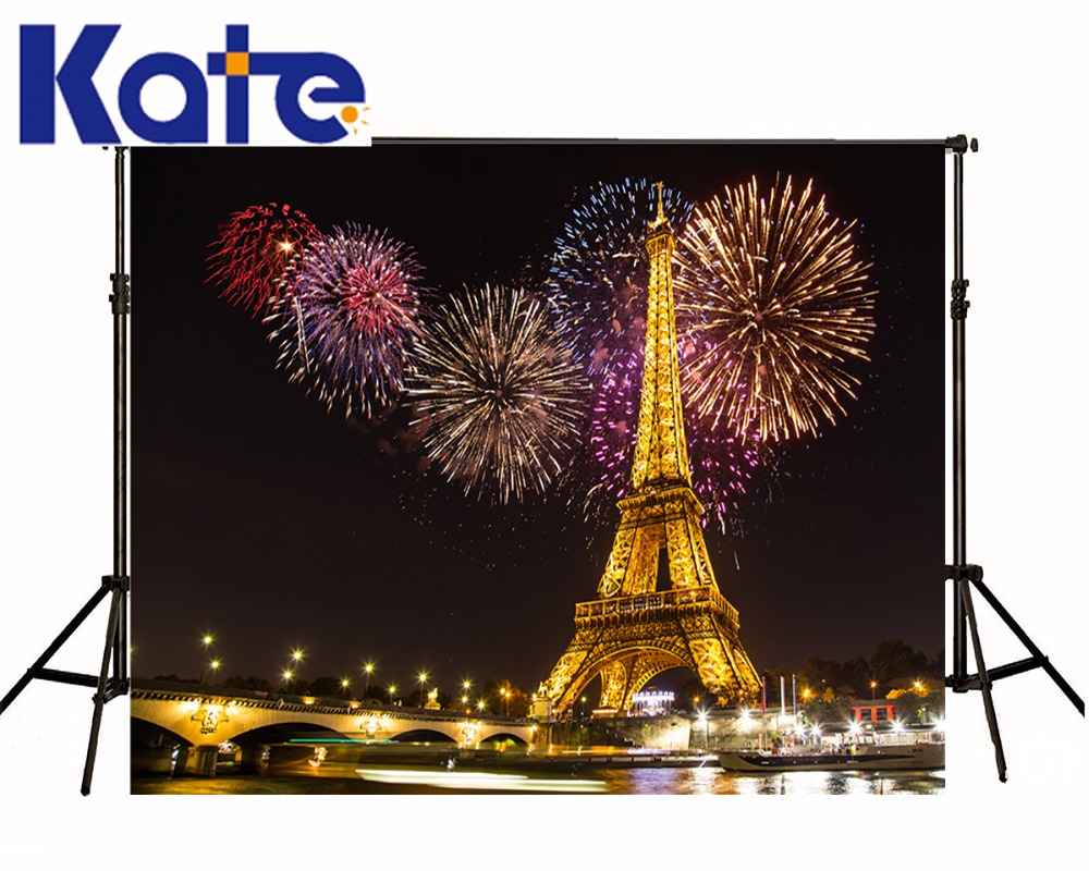 ФОТО Kate Eiffel Tower Backdrop Outdoor Wedding Photo Outdoor Wedding Background Scenic Photography Backdrops Seamless Photo