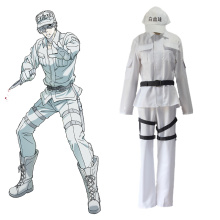 Hot Amine Cells At Work Cosplay Costume Leukocyte White Blood Cell Custome Hataraku Saibou Halloween Carnival Party WBC