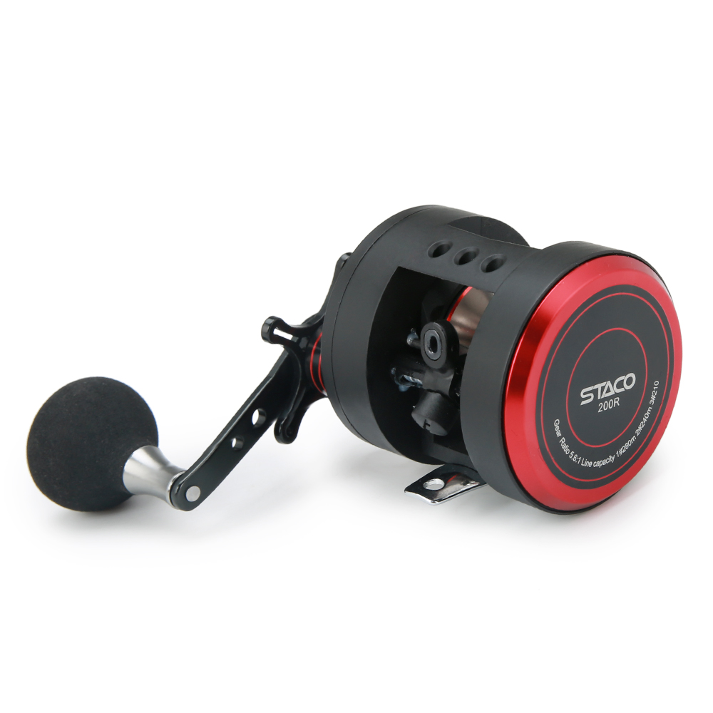 10 1 BB Fishing Reel Left Right 5 6 1 Trolling Reel Drum High Power Max