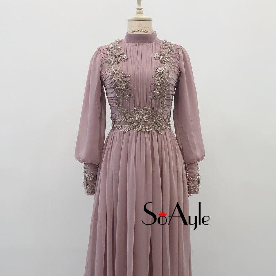 2a9c3a478e SoAyle Vestido de Madrin 2018 Mother of Bride Dresses Plus Size Long ...