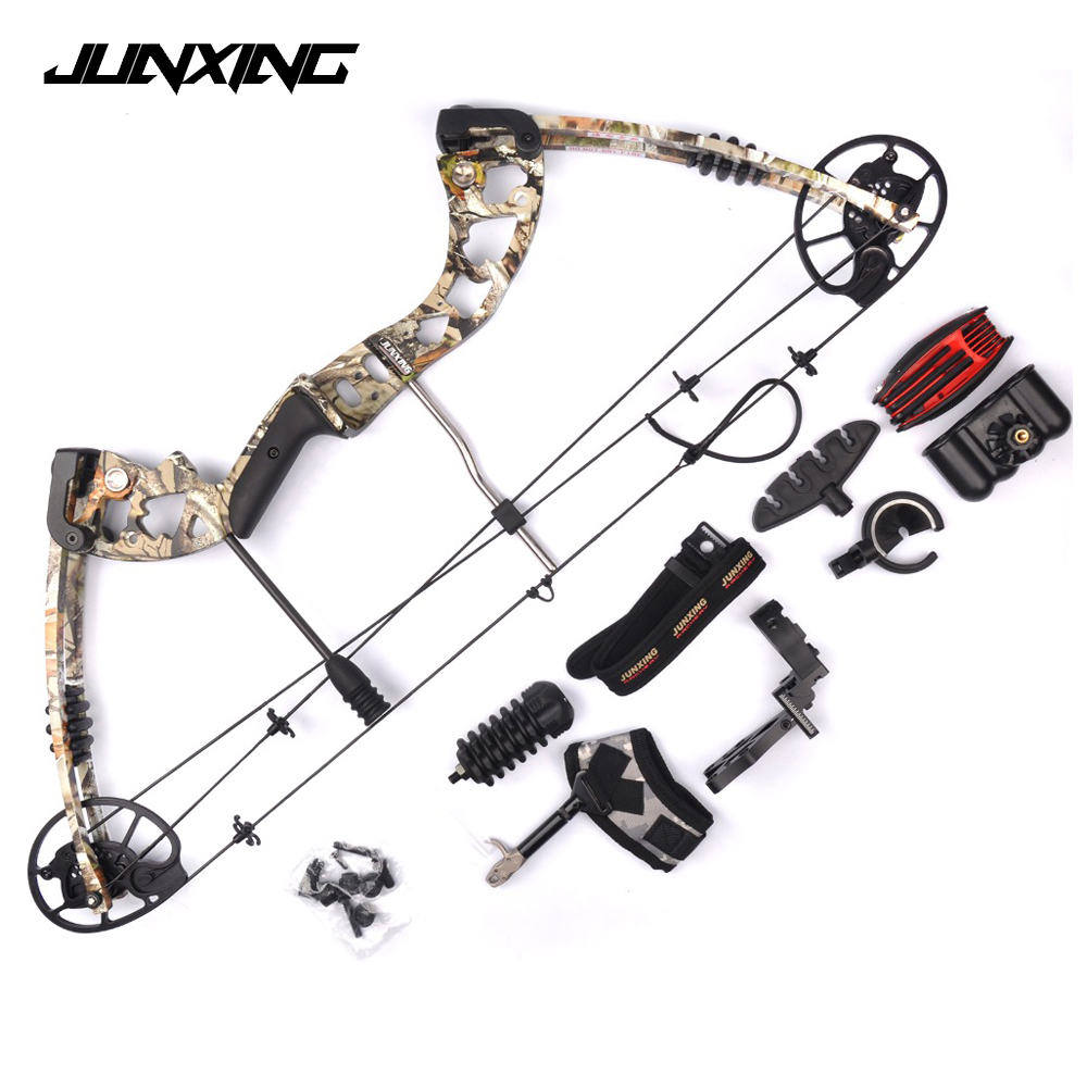 2 Color M125 Compound Bow 30 70 Lbs Aluminum Alloy with Bow Accessories Archery Equipment for Archery Hunting Shooting