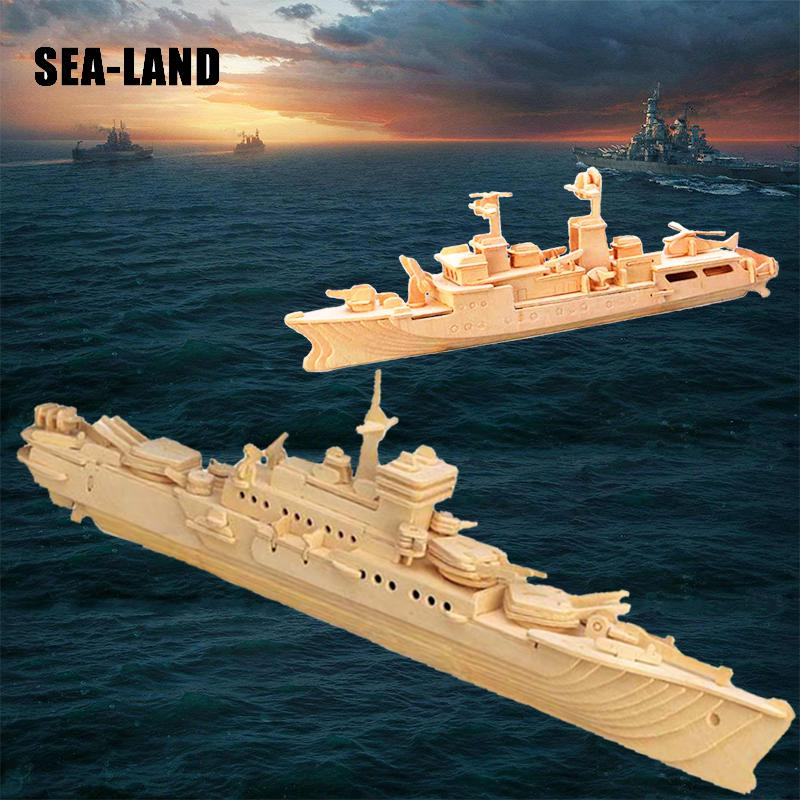 Model Building Ambitious Classical Sailing Military Ship Destroyer Aircraft Assembly Kit Wooden 3d Model Building Kits Kids Diy Hobbies Eductionnal Toys Traveling