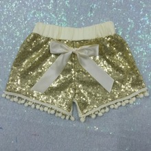 Shorts for girls Gold Sequin Shorts,Baby