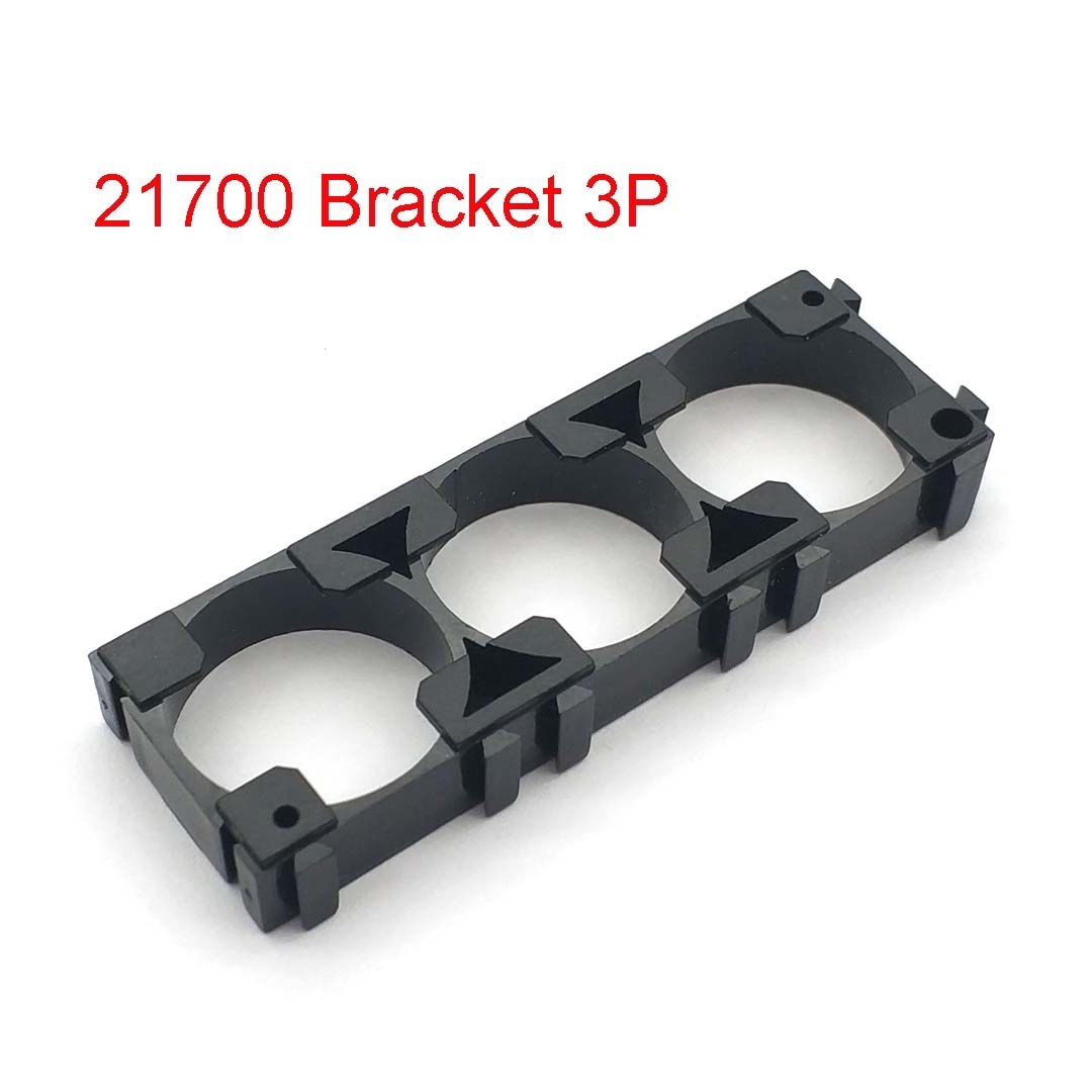 1 18650 Cellulare Supporto batteria caso scatola porta spilli SCHEDA PCB Mount in plastica