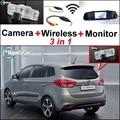3 в 1 Специальная камера заднего вида + беспроводной приемник + зеркальный монитор DIY резервная система парковки для KIA Carens RP MK3 2012 ~ 2015