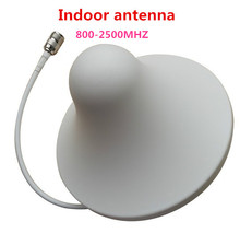 800~2500mhz omni directional indoor ceiling antenna N female type for gsm 3g mobile cell phone signal Booster repeater extender