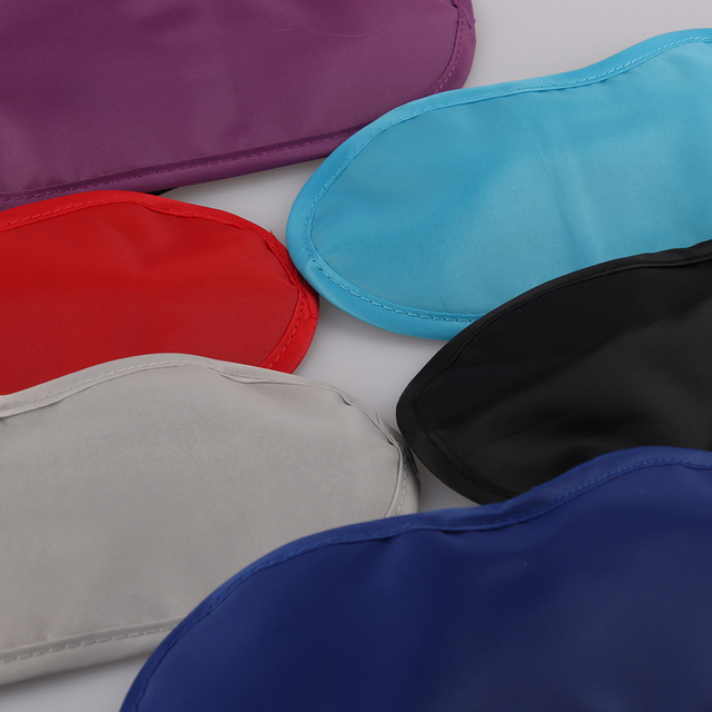 1 Pc Hot 9 Colors Sleep Rest Sleeping Aid Eye Mask Eye Shade Cover Comfort Health Blindfold Shield Travel Eye Care Beauty Tools 4