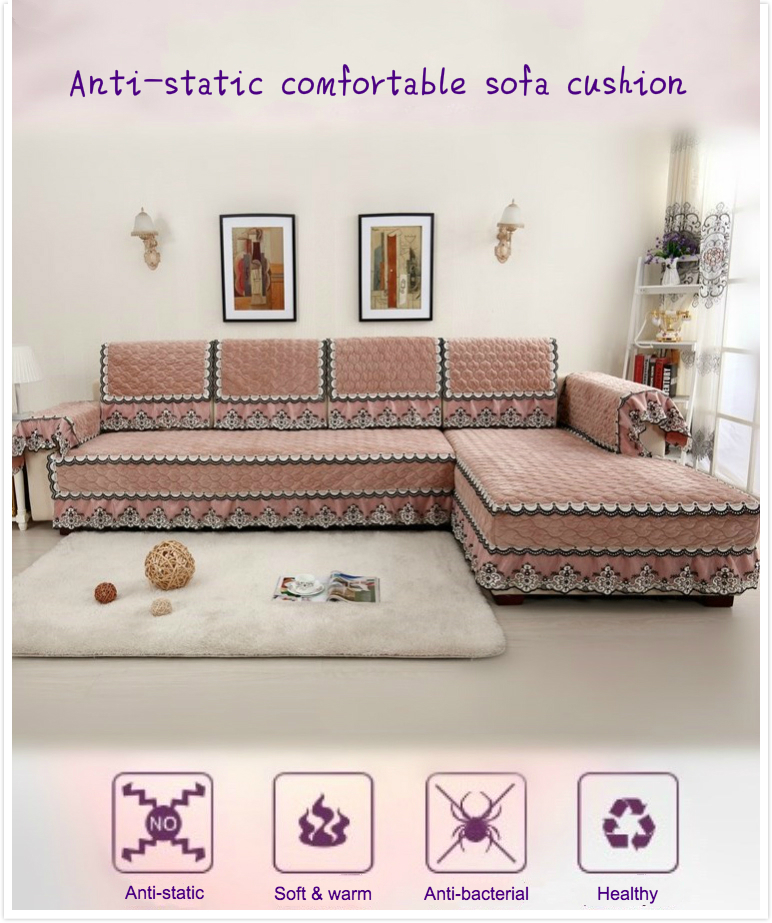 Multi size Simple Design Sofa Cover with 4 Colors Solid Couch ...