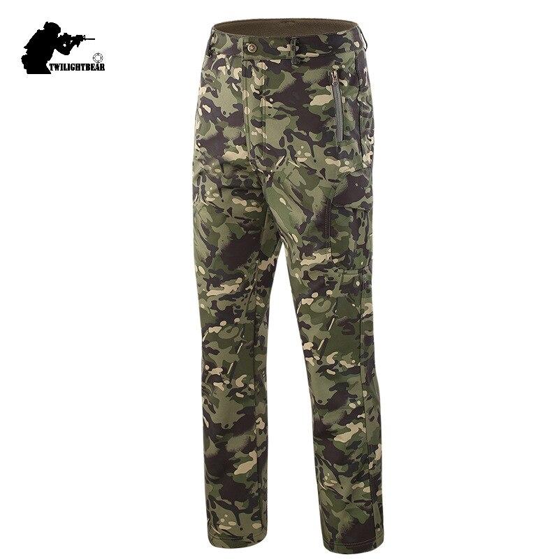 Capace Esercito Militare Tad Pelle Di Squalo Soft Borsette Pantaloni Tattici 4xl Impermeabile E Traspirante Sci Di Campeggio Di Combattimento Pantaloni Da Uomo Pantaloni