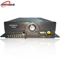 4CH mdvr high quality on board video recorder dual SD card on board video recorder truck mobile dvr