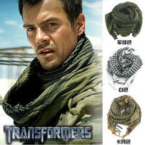 Army Military Tactical Arab Shemagh Keffiyeh Scarf Shawl Neck Cover Coyote OD Green Face Towel