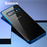 Baseus Luxury Phone Case For Samsung S10 S10+ Ultra Thin Plating Soft Silicone Case For Samsung Galaxy S10 S10+ Phone Cover Capa [category]