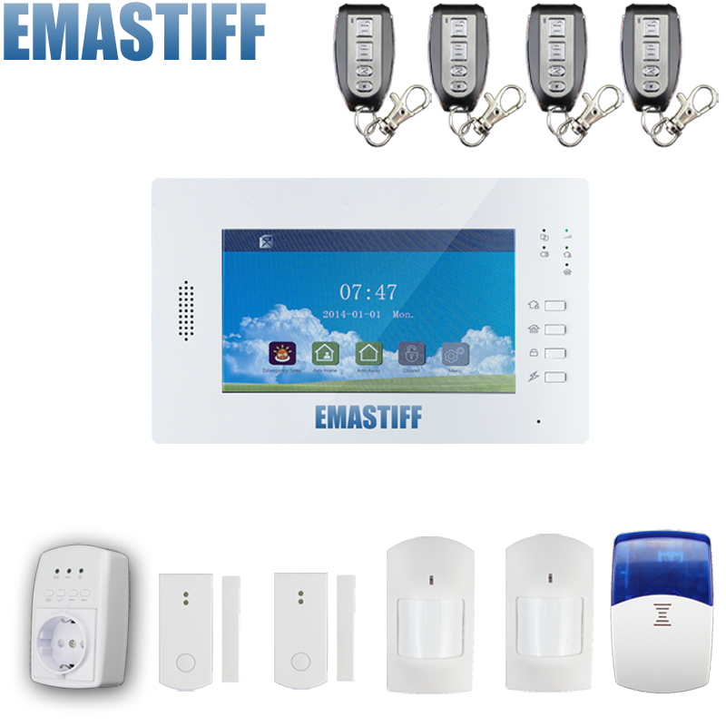 868mhz Double network alarm gsm&land-line home alarm system, telephone line backup alarm land use information system