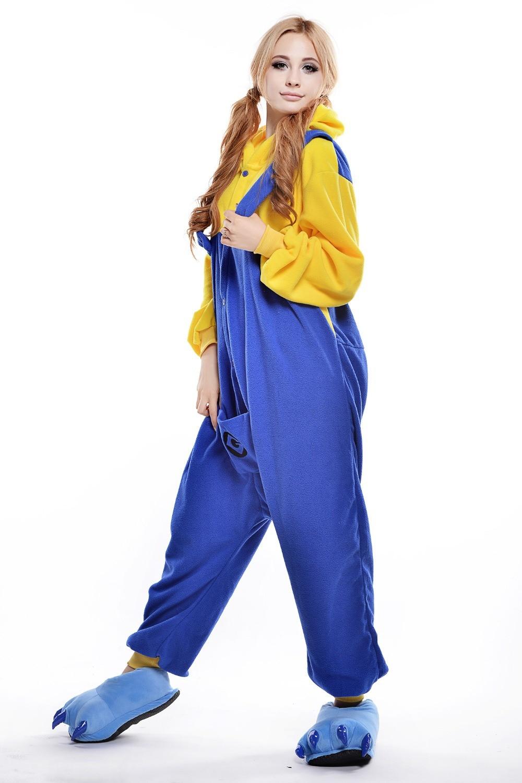 minion costume/ plus size halloween costume for women/ adult animal