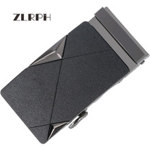 купить ZLRPH Famous Brand Belt Buckle Men Top Quality Luxury Belts Buckle for Men 3.5 cm Strap Male Metal Automatic Buckle по цене 1002.49 рублей