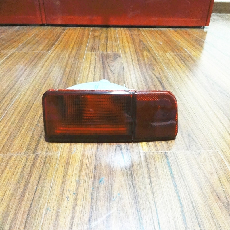 ФОТО 1PCS Left Side OEM Replacement Rear Bumper Light Tail Fog Lamp Without Bulbs for Mitsubishi outlander 2003-2006