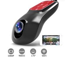 Wholesale prices Hidden Type Car DVR Camera Video Recorder Wireless WiFi APP Manipulation FHD 1080p Novatek 96655 dvrs Dash Cam Registrator DY020