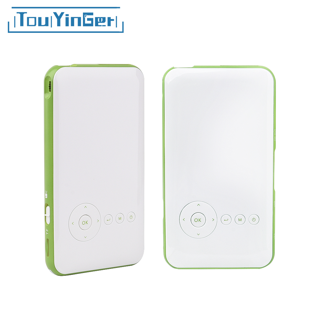 Touyinger Everycom S6 Plus 16 GB 32 GB Android AC3 Bluetooth pocket mini phone proiettore dlp wifi portatile di TF HDMI vidéoprojecteur