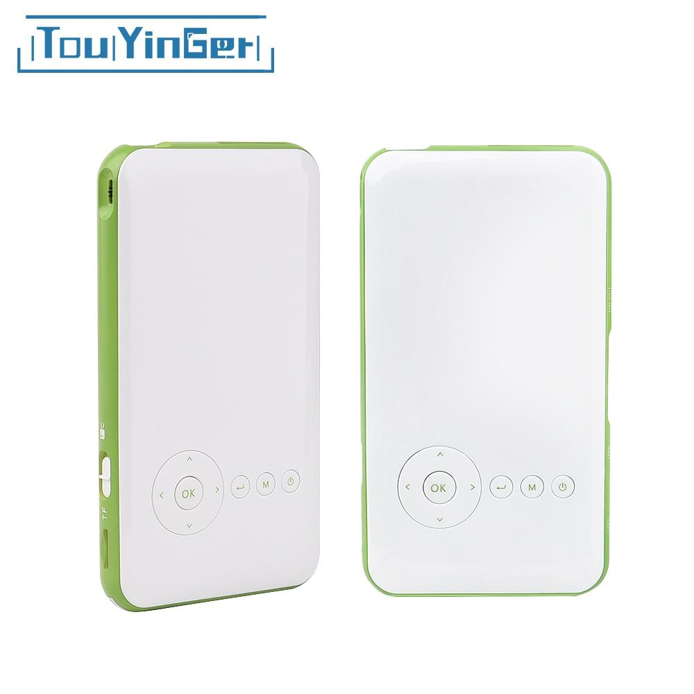 Touyinger everycom S6 плюс 16 ГБ 32 ГБ Android AC3 bluetooth карманный мини телефон DLP Проектор Wi-Fi Портативный TF HDMI videoprojecteur