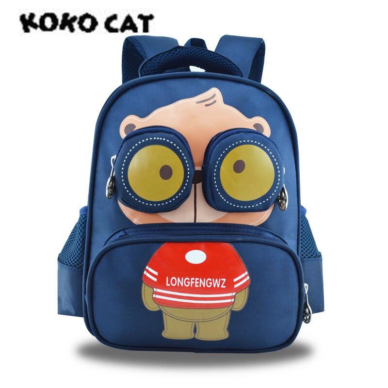 Detail Feedback Questions about KOKOCAT Light Kindergarten Bag Schoolgirl 3  6 Year Old Boy Cute Baby Bear Backpack on Aliexpress.com   alibaba group 4f05d178a2