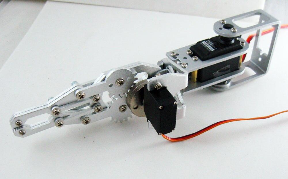 High-tech-spielzeug Begeistert Dagu 2 Servos Arm 21 Cm 2dof Robotic Arm Gürtel Gipper Produkte Werden Ohne EinschräNkungen Verkauft