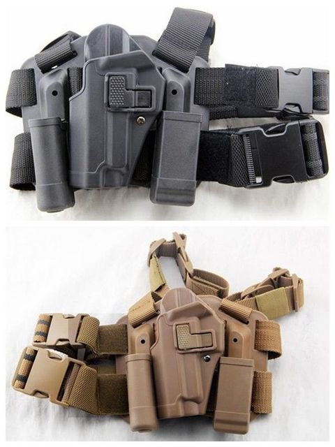 CQB ARMY BLACKHAWK Tactical left-hand Thigh Holster for SIG SAUER P226 P229