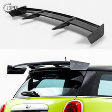 For F56 Mini Cooper S RK Style FRP Fiberglass Rear Spoiler (S Only) Auto Tuning Parts For Mini F56 Glass Fibre Rear Roof Wing цена